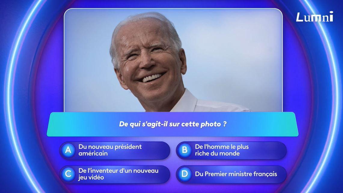 Joe Biden est le nouveau président des Etats-Unis 2020 - le jeu Lumni avec Lisa et Phuc