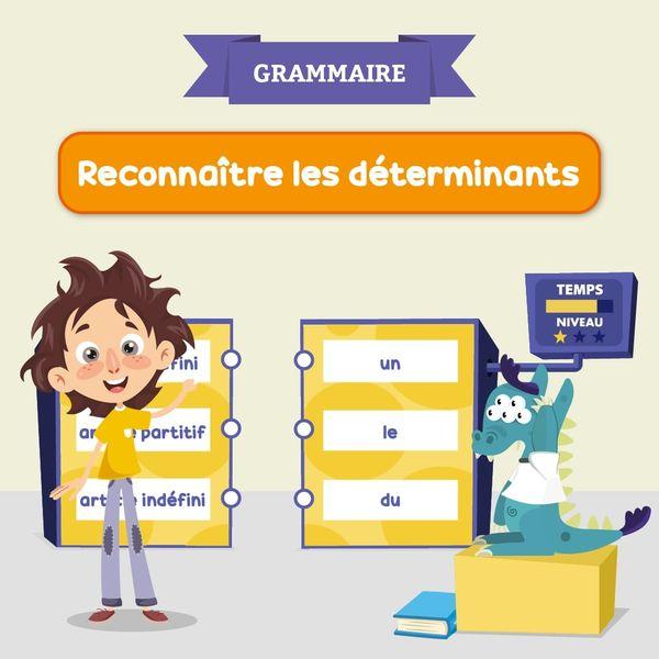 Reconnaitre Les Determinants Jeu Francais Lumni