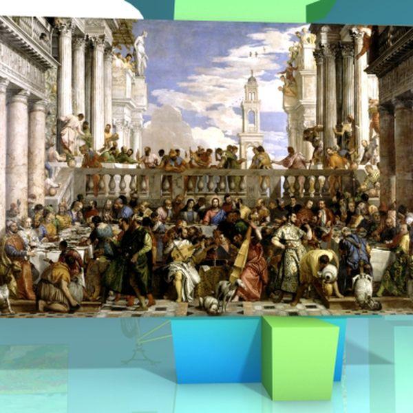 Les Noces De Cana 1563 De Veronese Video Arts Et Culture Lumni