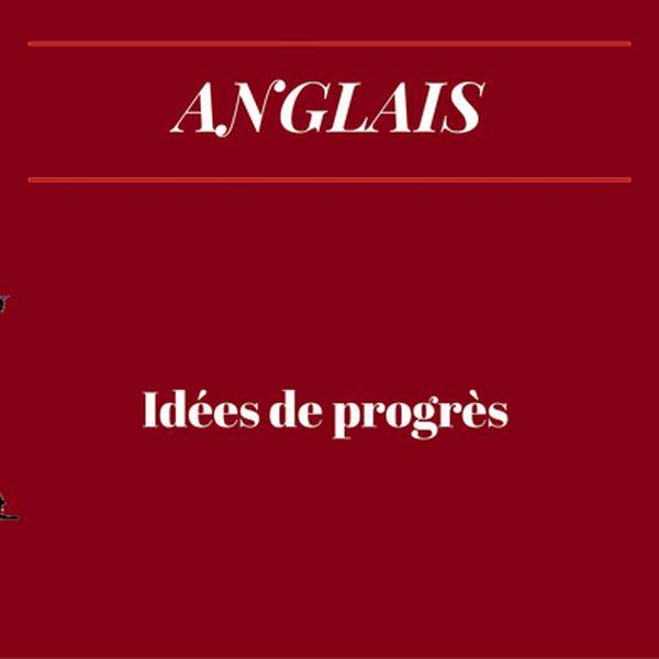 Idee De Progres Revisions Bac Anglais Video Langues Vivantes Lumni