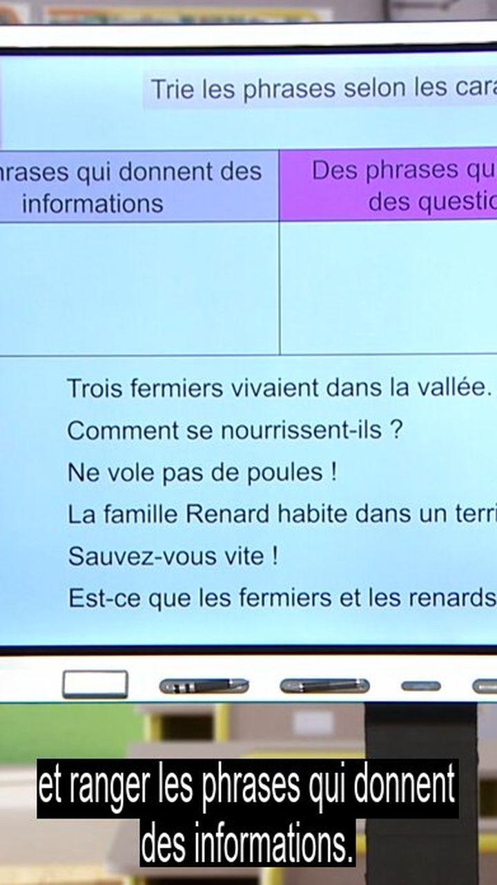 Les Differentes Formes De Phrase 18 Mai Video Francais Lumni