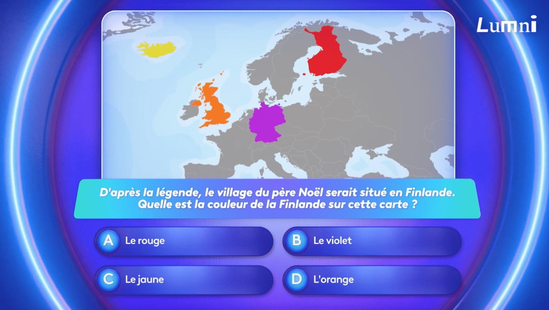 La Finlande est un pays situé en Europe - le jeu Lumni avec Alexis et Lou
