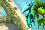Image de couverture - Apprendre l'alphabet avec ABC Dino : Voyagez sur les 26 îles ayant chacune la forme d'une lettre