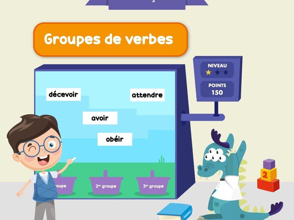 Groupes De Verbes Ce2 Jeu Francais Lumni