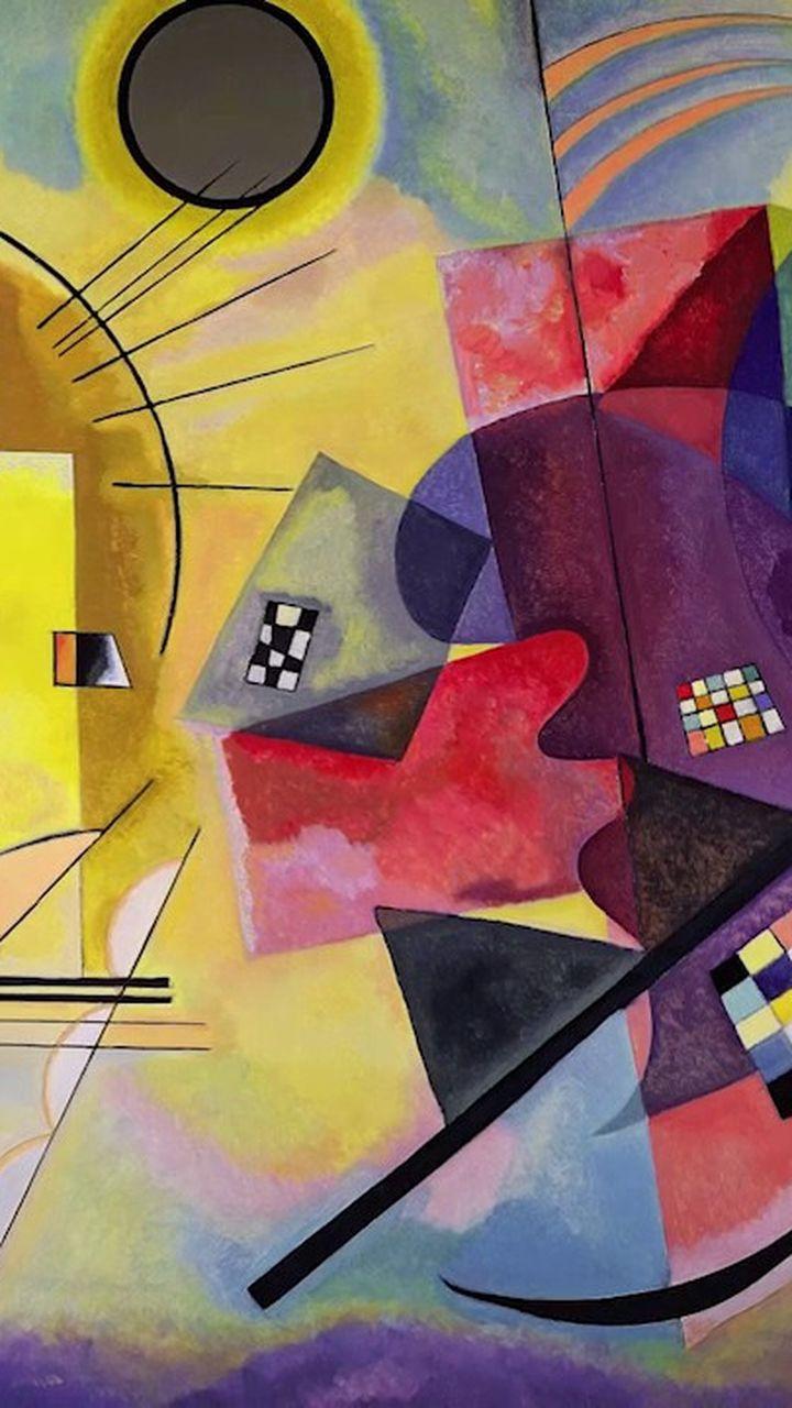 Vassily Kandinsky L Inventeur De L Art Abstrait Video Arts Et Culture Lumni