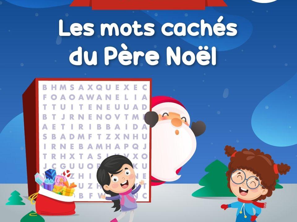 Les Mots Caches Du Pere Noel Jeu Francais Lumni