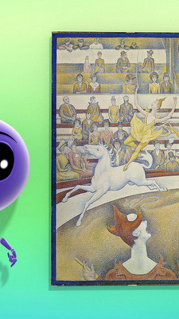 Le Cirque De Seurat Video Arts Et Culture Lumni