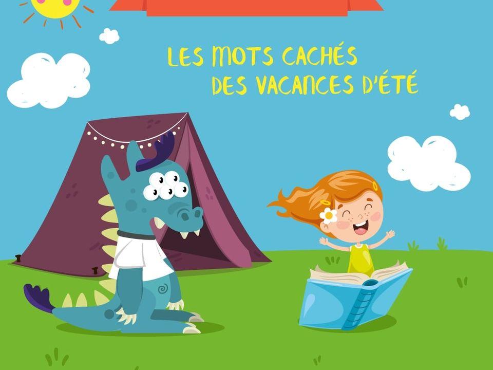 Les Mots Caches Des Vacances Jeu Francais Lumni