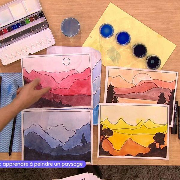Apprendre A Peindre Un Paysage 15 Avril Video Enseignements Artistiques Lumni